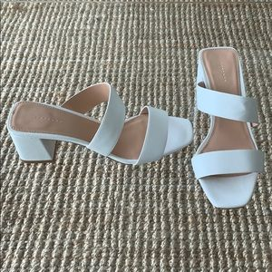Topshop White Sandals